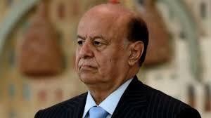 الرئيس هادي يعزي اسر ضحايا العملية اﻹرهابية التي استهدفت اللواء 103 في ابين