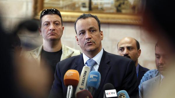الانقلابيون يطلقون النار على ولد الشيخ في صنعاء