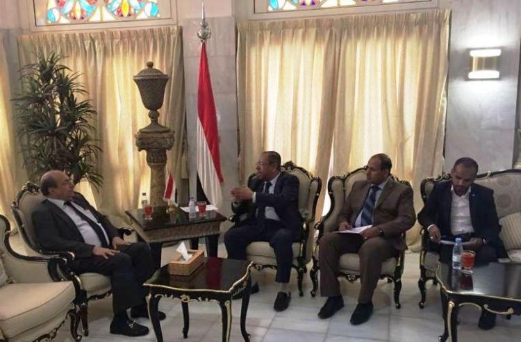السفير المصري لليمن يبشر اليمنيين بتسهيلات كبيرة في بلاده