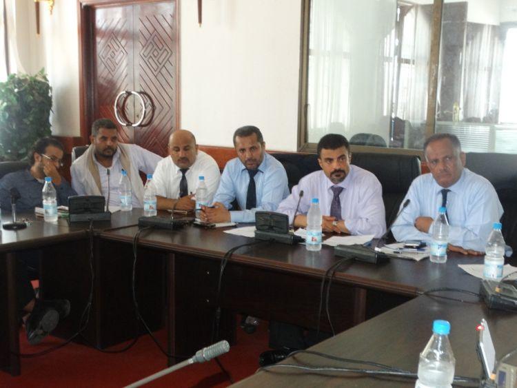 عدن: لقاء موسع لمناقشة التدابير اللازمة في مواجهة وباء الكوليرا