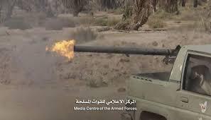 مقاتلات التحالف تقصف مواقع الانقلابيين في نهم وتدمير العديد من آلياتهم