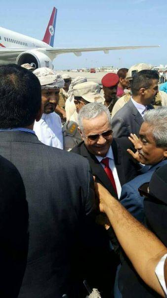 أول تصريح لمحافظ عدن المفلحي بعد وصوله الى المحافظة