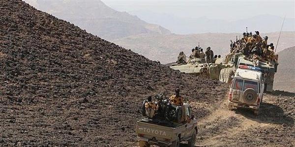 بالتزامن مع معارك تحرير الحديدة .. عملية عسكرية واسعة للجيش الوطني تستهدف معقل زعيم الحوثيين