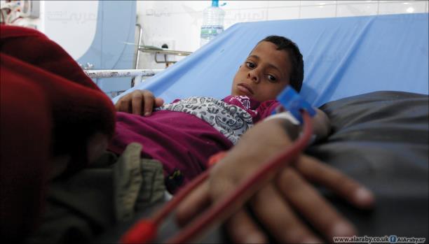 صندوق قطر يدعم مركز غسيل الكلى ومواجهة الكوليرا بتعز