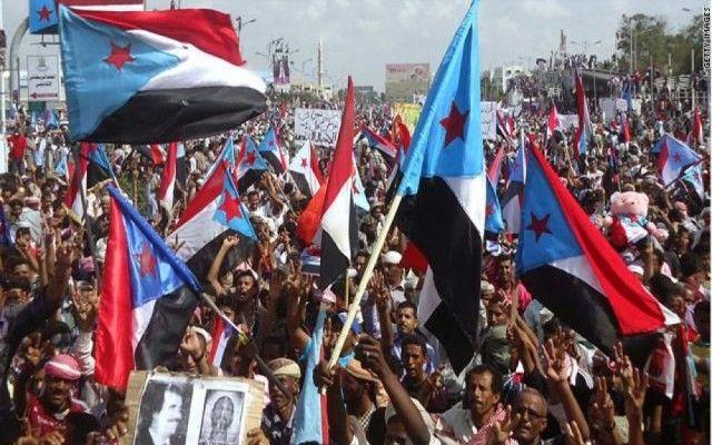 بيان صادر عن مجالس الحراك الثوري في محافظات حضرموت ولحج وأبين يرفضون فيه ما سمي بإعلان عدن التاريخي