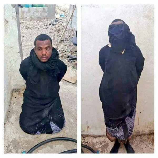 القاء القبض على قيادي بتنظيم القاعدة متنكر بزي نسائي في عدن – صورة