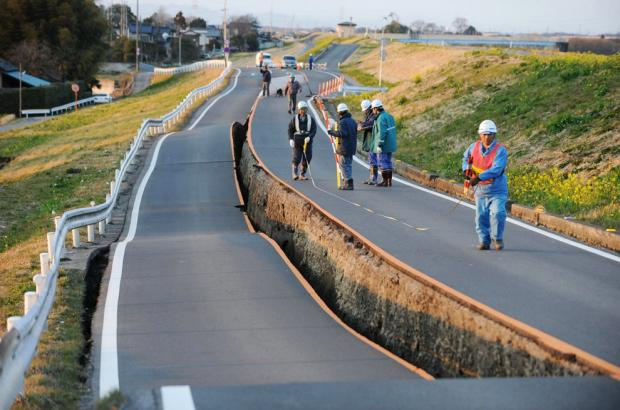 """زلزال بقوة """"6 ريختر"""" يضرب جنوب اليابان"""
