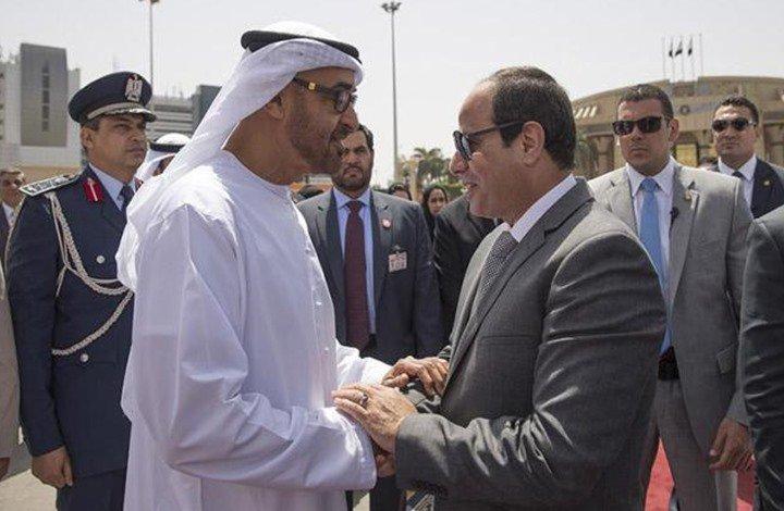 """""""ميدل إيست"""": دور الامارات المشبوه.. هل دفعت """"أبوظبي""""  السيسي للاعتداء على ليبيا؟؟"""