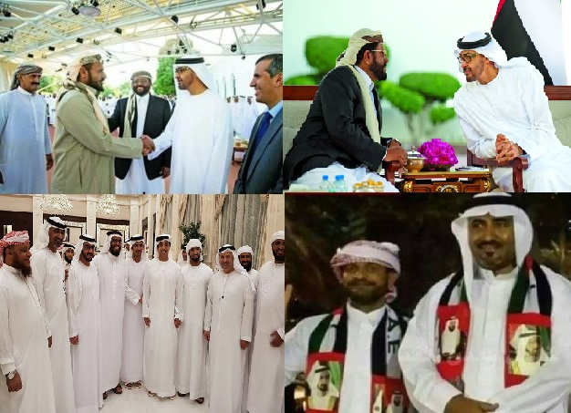 """شاهد بالصورة: الفرق بين""""سلطان العرادة  و """"عيدروس الزبيدي"""""""