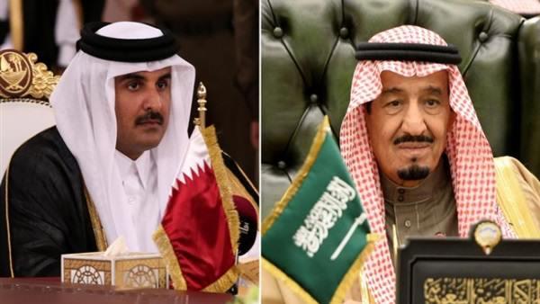 """تفاصيل رسالة خطية جديدة من الملك السعودي """"سلمان"""" إلى أمير قطر """"تميم"""""""