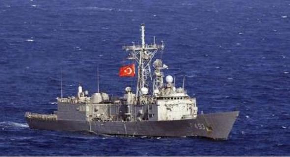 """«غريسون» سفينة حربية تركية في مهمة """"بخليج عدن"""""""