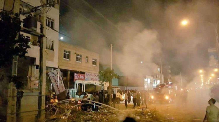 انفجار عنيف يهز مدينة شيراز الايرانية