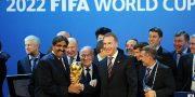 الفيفا يعلن ان الاتصالات منتظمة مع اللجنة التنظيمية المحلية في قطر 2022