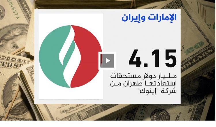 """هكذا شكلت الإمارات """"طوق نجاة"""" لإيران بعد تاثرها بالعقوبات الدولية"""