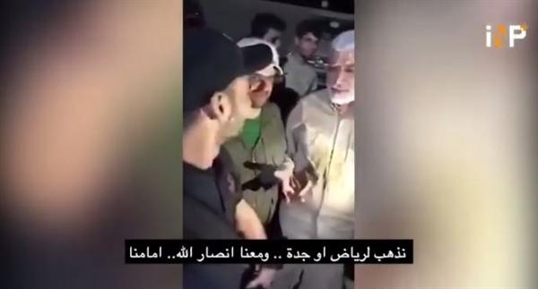 """قائد في ميليشيا الحشد الشعبي العراقي يهدد بالدخول إلى الرياض برفقة الحوثيين """"فيديو"""""""