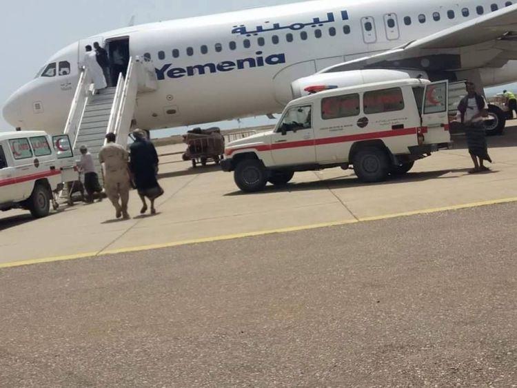 عدن : نجاة طائرة يمنية من كارثة محققة وعلى متنها 180 راكبا