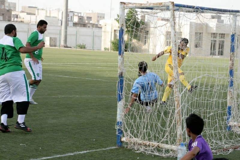 فريقي مكتب التربية وشركة عبر البحار يلتقيان غداً في المباراة النهائية لبطولة كاس عدن لكرة القدم الخماسية