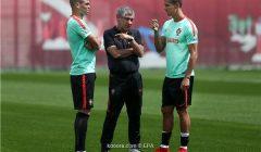 رونالدو يكشف للاعبي البرتغال موقفه النهائي من ريال مدريد