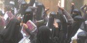 احتجاجات غاضبة في محافظة لحج وهتافات (يا لحجي صح النوم لا خبجي بعد اليوم )