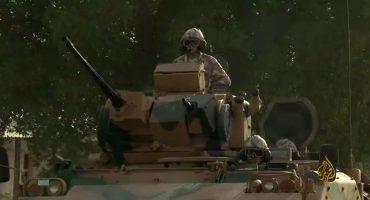 بعد وصولها الى قطر… شاهد أول فيديو للدبابات التركية في الدوحة
