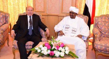 الرئيس هادي يلتقي الرئيس السوداني عمر البشير في مكة المكرمة