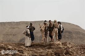 قوات الجيش الوطني تسيطر على اجزاء واسعة من جبل ثرمد الاستراتيجي.
