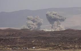 التحالف يستهدف بغارات جوية مخازن اسلحة المليشيات في صرواح