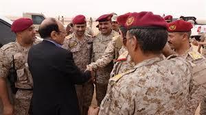 نائب رئيس الجمهورية يصل اقليم سبأ