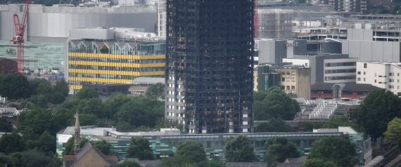 تفاصيل مفجعة جديدة عن حريق لندن.. شاهد ما عثرت عليه الشرطة أسفل درج أحد طوابق البرج
