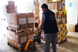 """وصول """"400""""طن من الامدادات الصحية الى اليمن"""