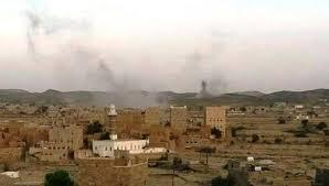 المليشيات الانقلابية تقصف قرى في محافظة البيضاء بالأسلحة الثقيلة
