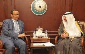 ولد الشيخ يبحث تطور محادثات السلام اليمنية