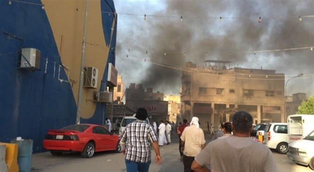 مقتل ضابط أمن سعودي بتفجير في القطيف (صورة)