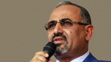"""""""الزبيدي"""" يخضع للرئيس هادي ويقر بشرعيته.. تفاصيل"""