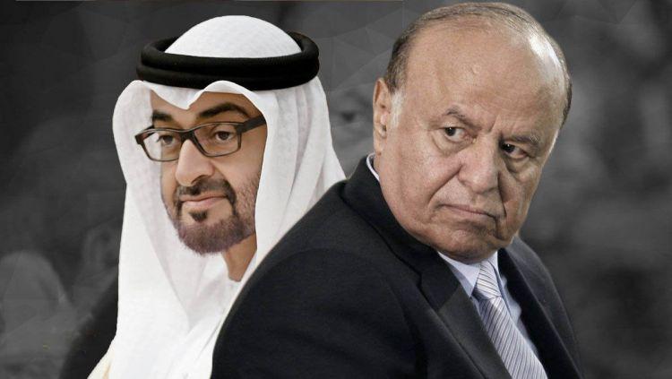 منها عزل هادي .. معارض اماراتي يكشف خطة الإمارات الجديدة في اليمن