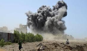التحالف العربي يشن غارات مكثفة على مواقع الانقلابيين في صنعاء