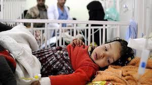 """""""9790"""" حالة اصابة بوباء الكوليرا منذ منتصف ابريل الى 8يوليو."""