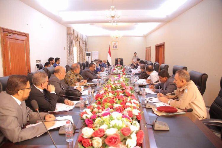 مجلس الوزراء يقف امام تطورات الاوضاع على المستويين المحلي والخارجي ويتخذ عدداً من القرارات
