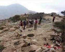 قوات الشرعية تحبط هجوم للمليشيات الانقلابية على جبهة المفاليس في حيفان.