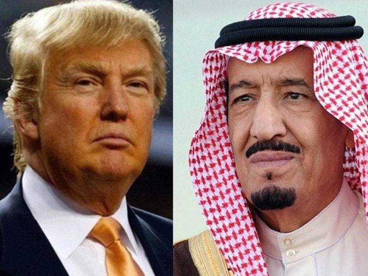 ترامب يبحث هاتفياً مع الملك سلمان أزمة قطر