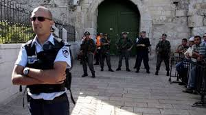 الحكومة الاسرائيلية تغلق المسجد الاقصى لليوم الثاني على التوالي