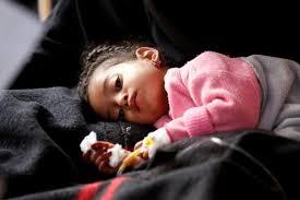 منظمة الصحة العالمية تعلن عن ارتفاع عدد ضحايا الكوليرا في اليمن الى 1784حالة.