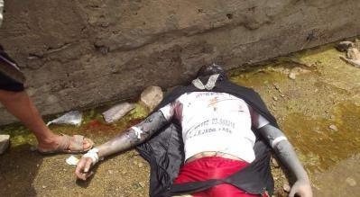 مواطنون يعثرون على جثة متفحمة مرمية على طريق وادي سعد بالمحويت – صورة