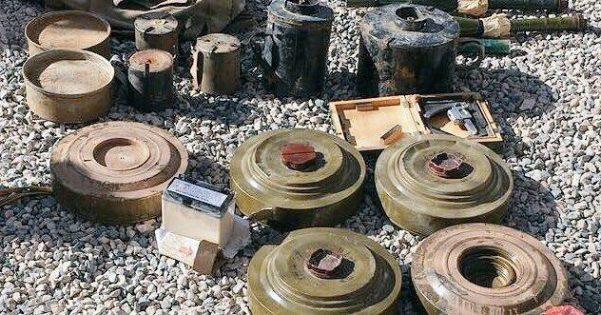 """ضحايا الغام مليشيات الحوثي في الضالع خلال 28 شهر """"تقرير"""""""