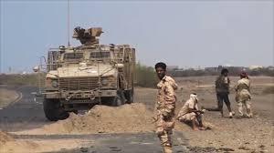 قوات الشرعية تتقدم الى مثلث بوابة معسكر خالد في النجيبة