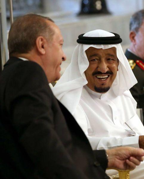 """عاجل: الملك سلمان يستقبل الرئيس التركي رجب طيب أردوغان """"صور"""""""