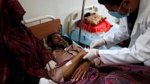 منظمة الصحة العالمية تعلن ارتفاع اعداد وفيات الكوليرا الى نحو 2000 حالة وفاة
