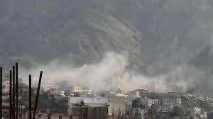 مقتل مدني واصابة طفل بقذائف ورصاص للمليشيات على مدينة تعز