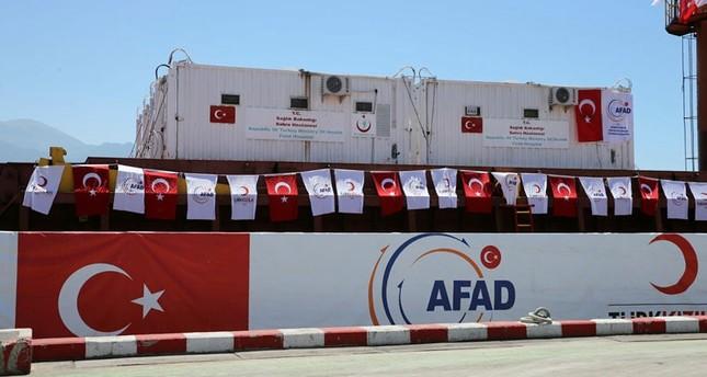 مستشفيان ميدانيان مقدمان من تركيا يباشران عملهما في عدن