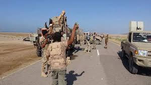 قوات الجيش الوطني تعزز من تواجدها في مثلث المخاء محاولة فتح الطريق الرئيسية الواصلة بين تعز والمخاء